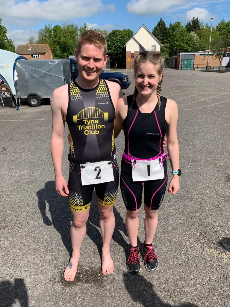 The Addisons go to Cleveland Sprint Triathlon – 19th May